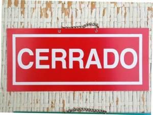spanish closed